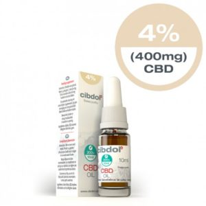 olio di cbd 4 percento 400mg-10ml-cibdol