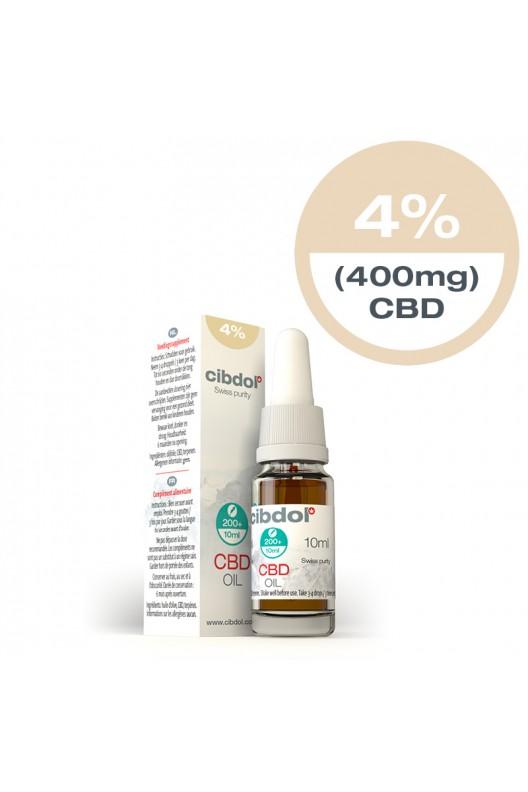 olio di cbd 4 percento 400mg-10ml-cibdol