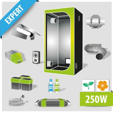 grow box kit 80 completo